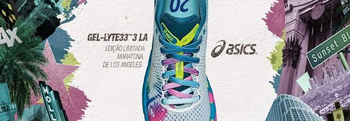 60da4b8c7e3 ASICS lança GEL-LYTE33™ 3 em homenagem a Maratona de Los Angeles ...