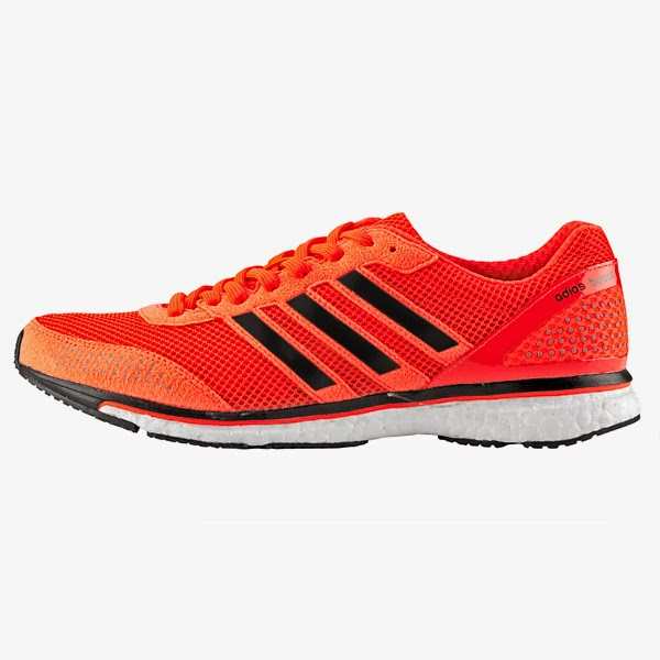 294b1c033 O Adios Boost 2 é o tênis de performance da Adidas. Indicado para pisada  neutra supinada. Esse tênis é utilizado por muitos atletas profissionais